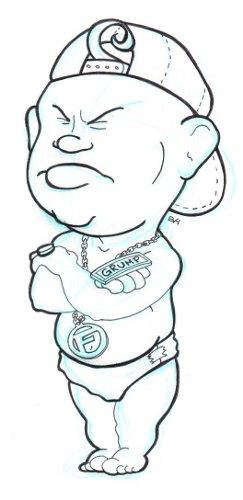 Doodle 13 - Frump Master-Frump