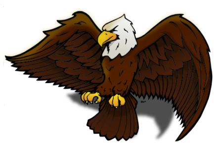 Doodle 27 - Eagle (color)