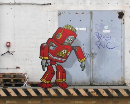Doodle 109 - Dancing Robot
