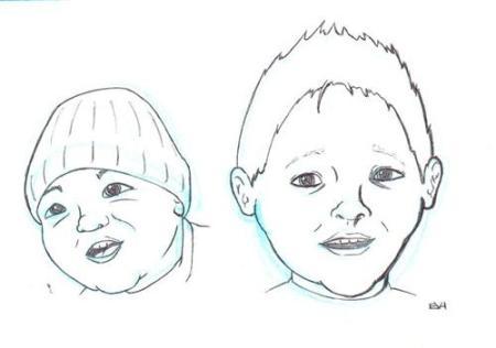 Doodle 133 - Facial Study (Kids)