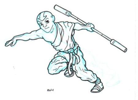 Doodle 138 - Avatar Aang